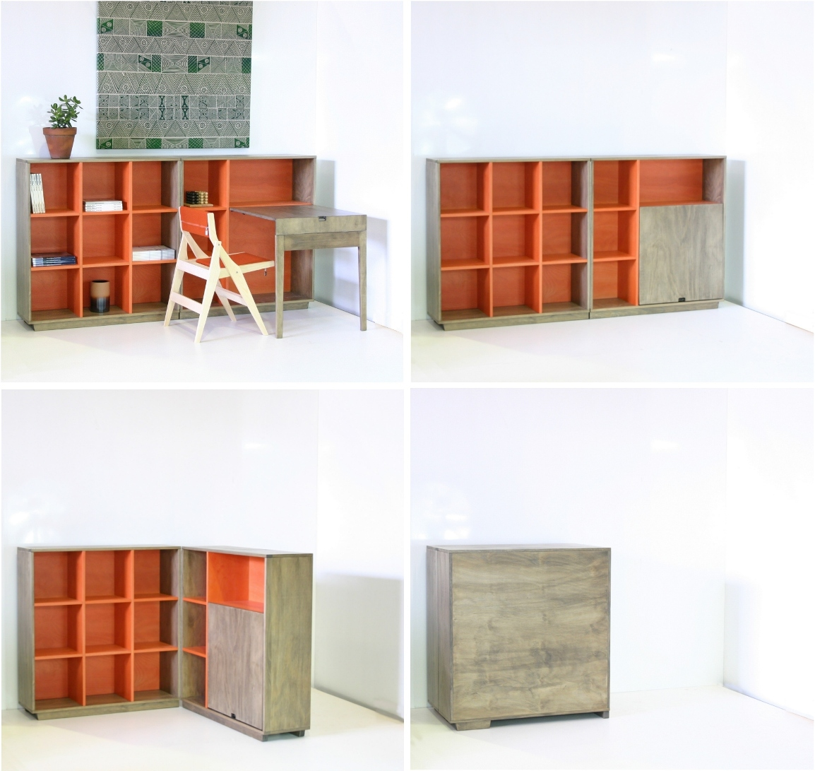 trans-form-it bookcase sequence